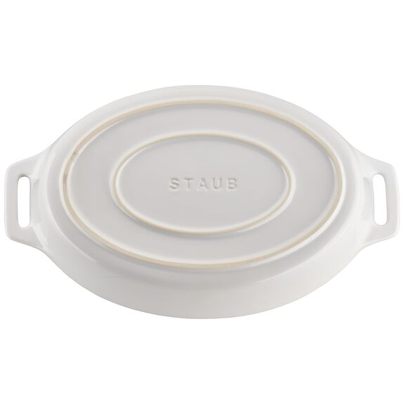 2-pc Oval Baking Dish Set, White, , large 4