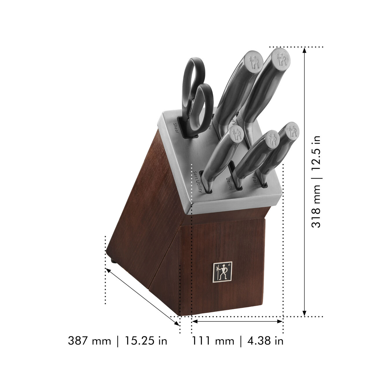 7-pc, Knife block set, graphite grey,,large 2
