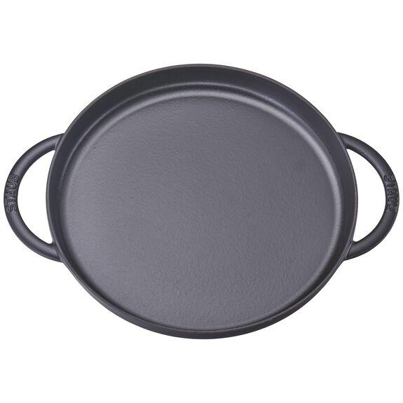"12"" Chicken al Mattone Griddle & Press Set, Black Matte, , large"