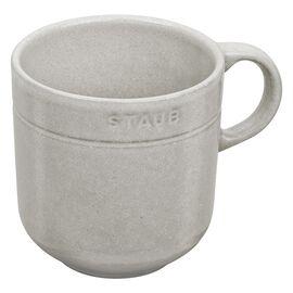 Staub Dining Line,  round Mug, white truffle