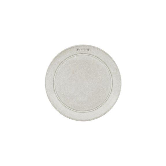 Tabak Sığ, 15 cm | Trüf Beyazı | Seramik | Yuvarlak,,large 3