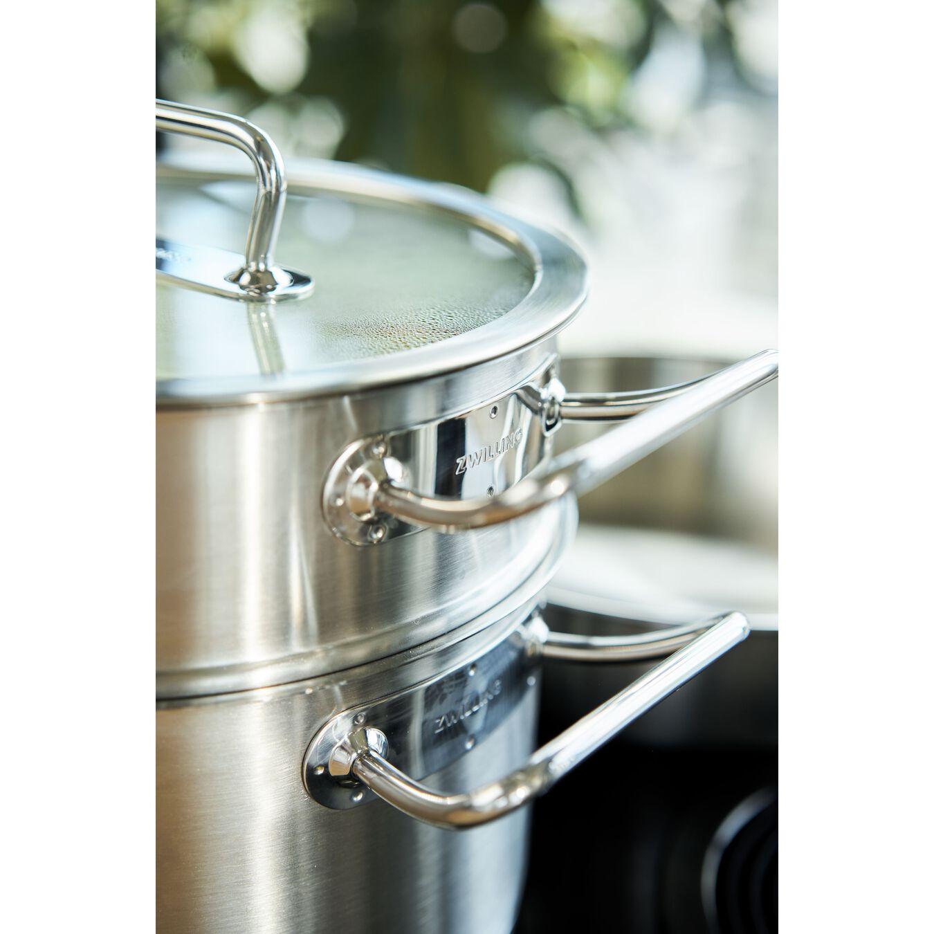 Passoire pour cuit vapeur 24 cm, Inox 18/10,,large 8
