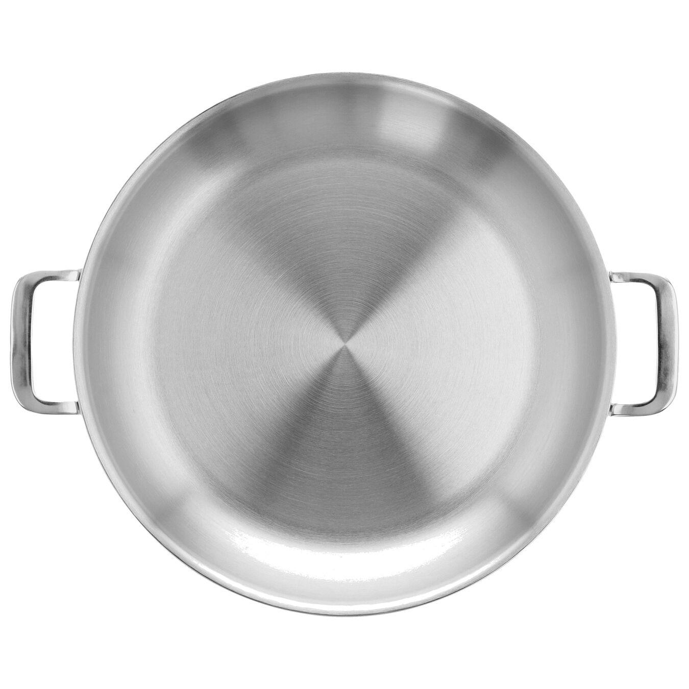 Padella con 2 maniglie - 32 cm, 18/10 acciaio inossidabile,,large 4