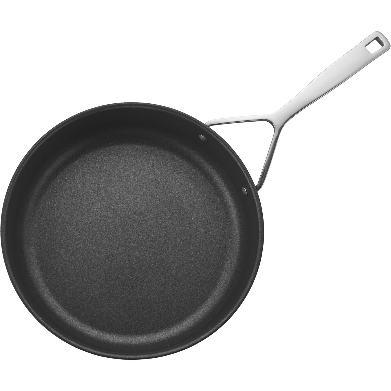 28 cm / 11 inch Aluminum Frying pan high-sided,,large 3