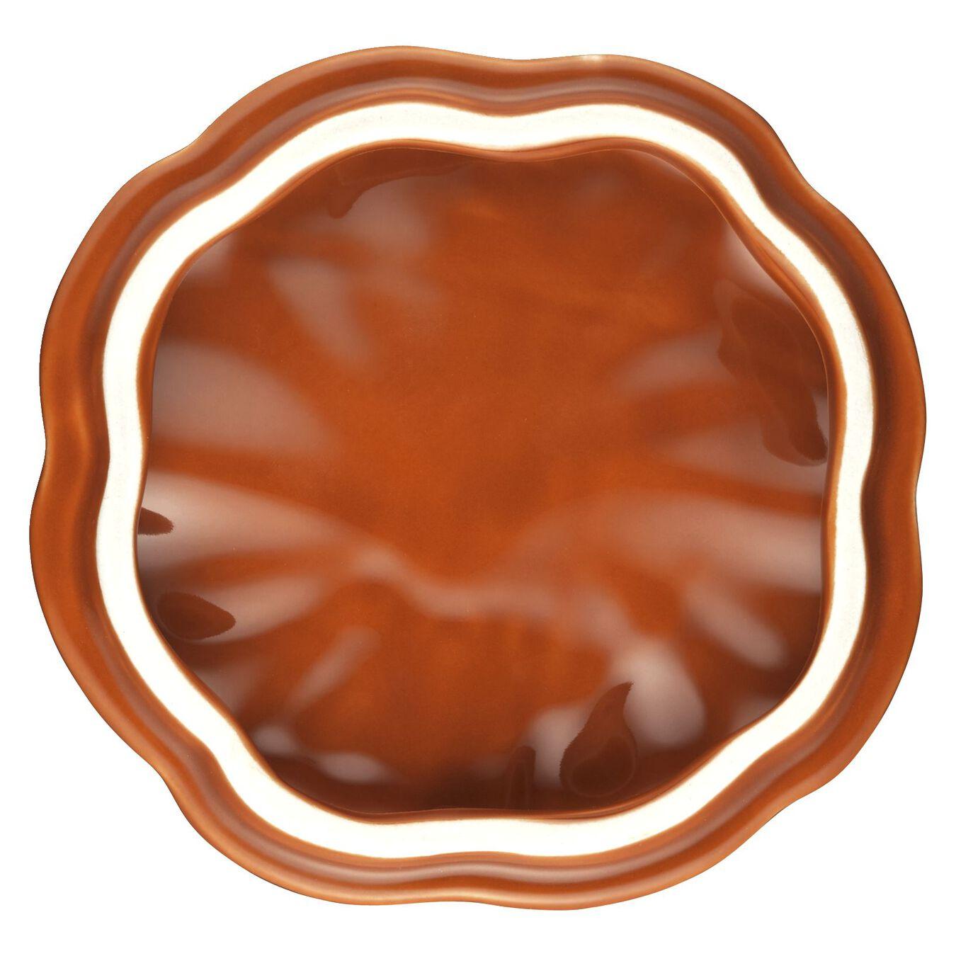 Cocotte 12 cm, Kürbis, Zimt, Keramik,,large 7
