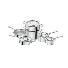 ZWILLING Sensation, 10 Piece 18/10 Stainless Steel Cookware set