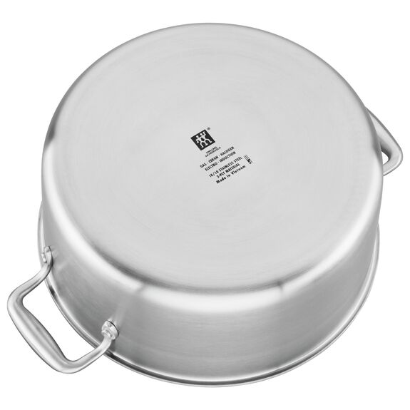 8-qt 18/10 Stainless Steel Stock pot,,large