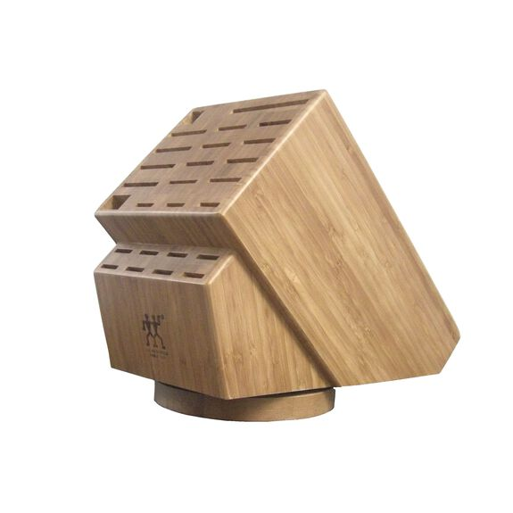 26-slot Bamboo Swivel Knife Block,,large