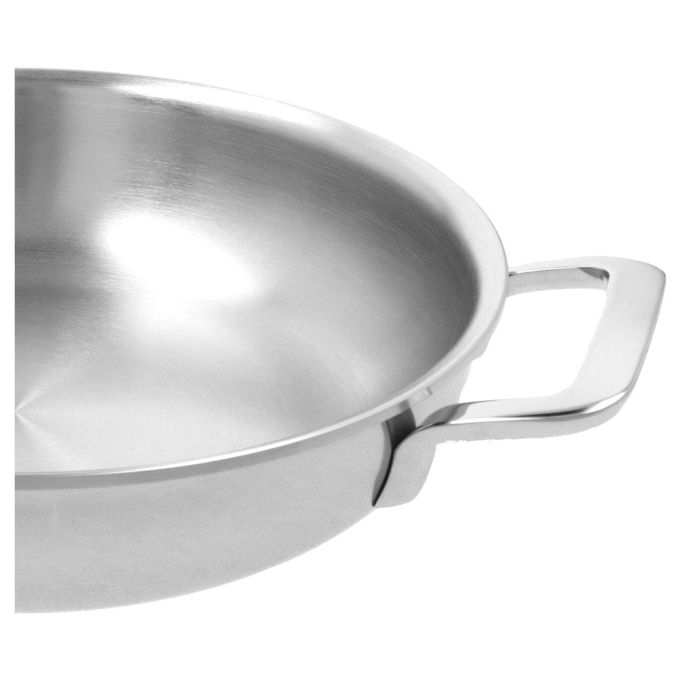 Bakpan met 2 handgrepen Zilverkleurig 24 cm,,large 2