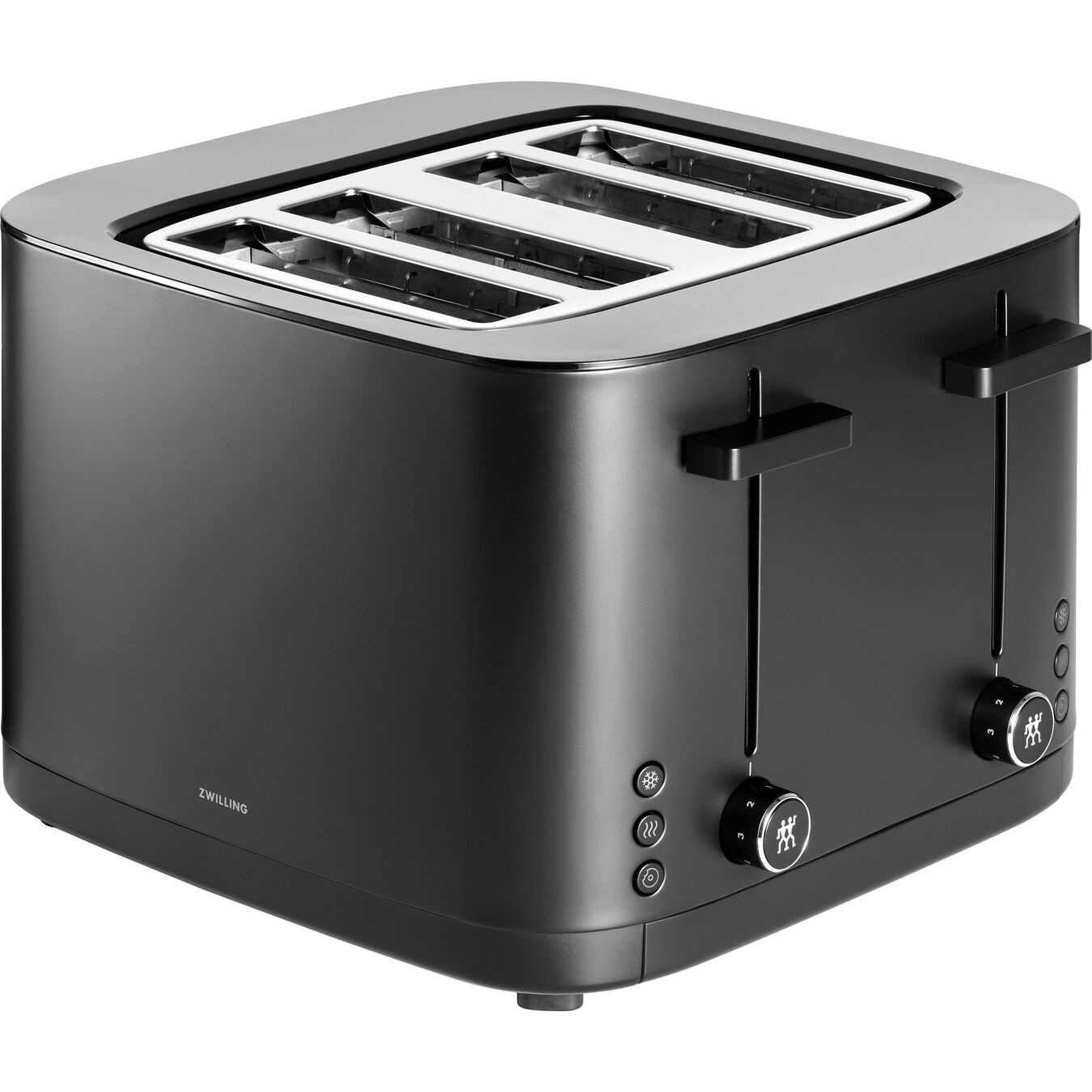 4 Slot Toaster - Black,,large 1