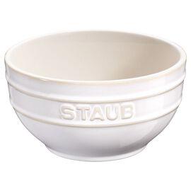Staub Ceramique, Bol 17 cm, Céramique, Blanc ivoire