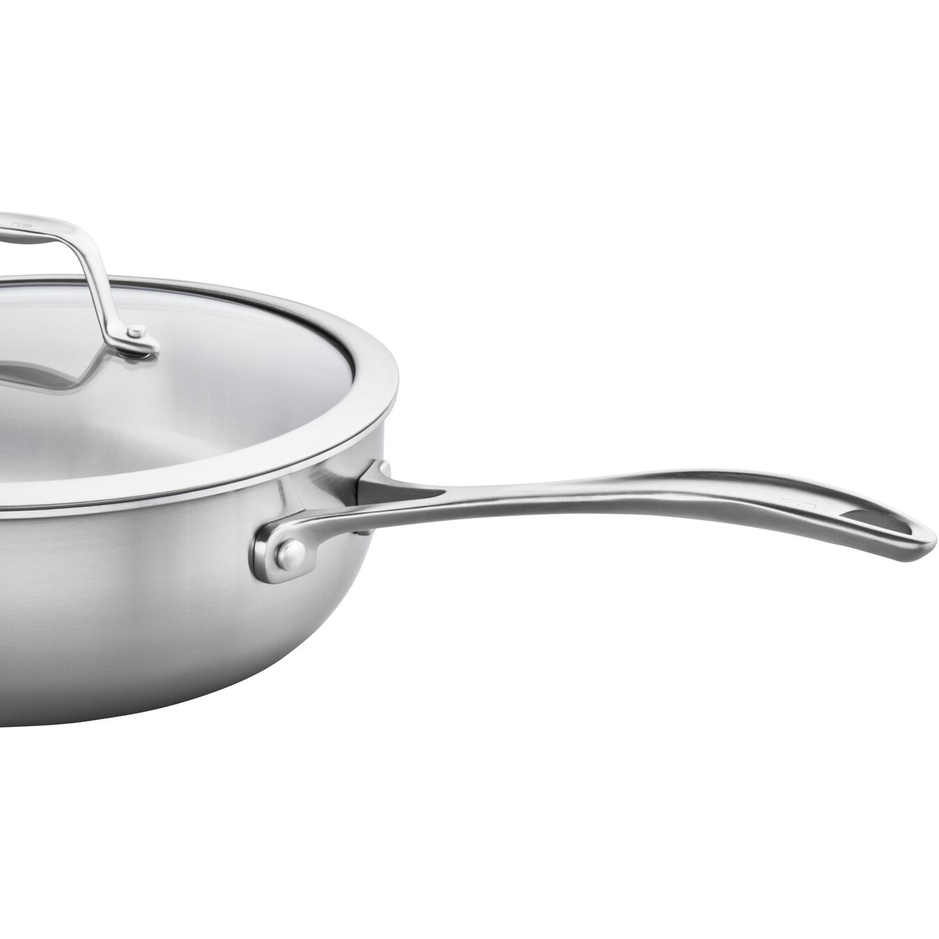 10-inch, 18/10 Stainless Steel, Non-stick, Saute pan,,large 4