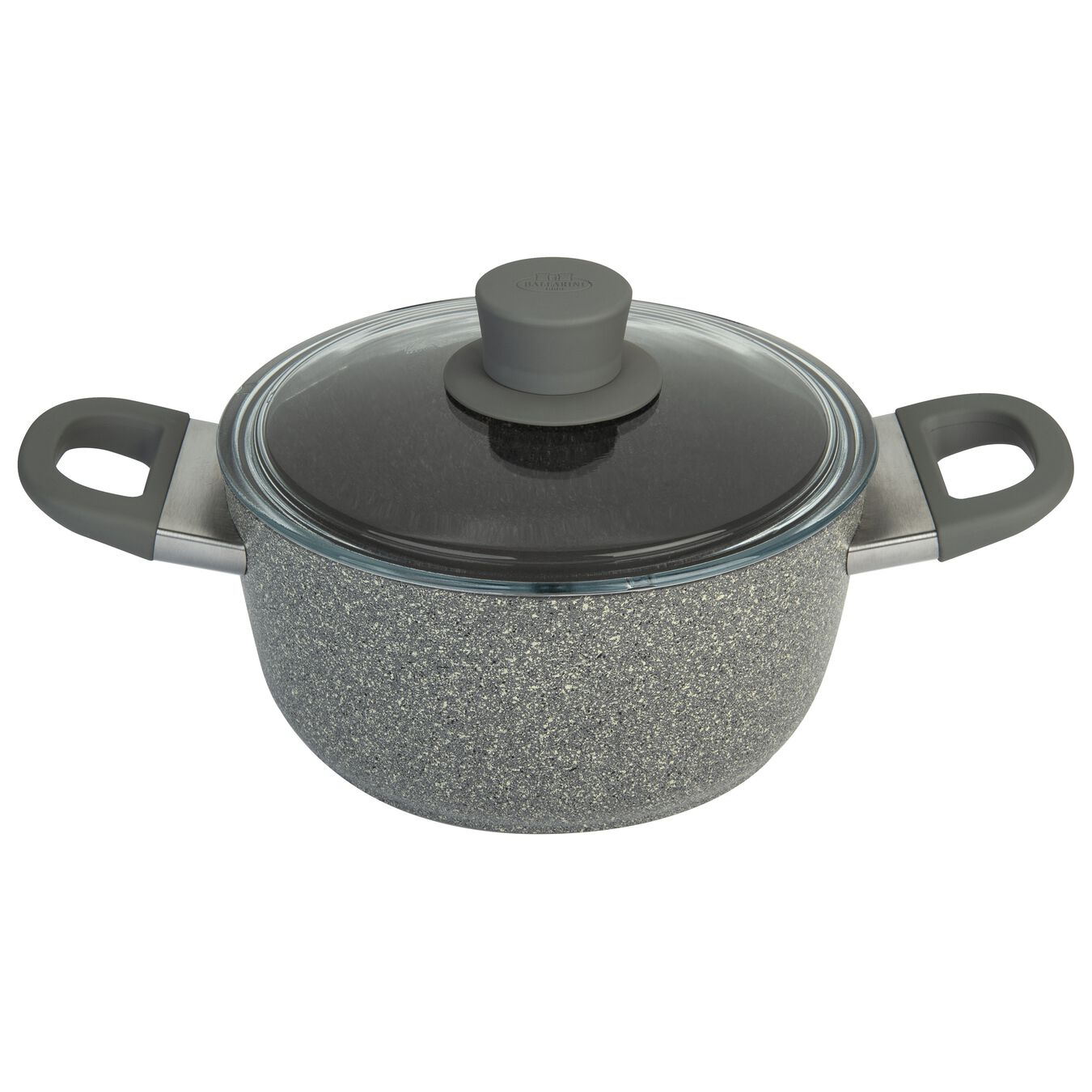 Aluminum Stock pot with glass lid,,large 1