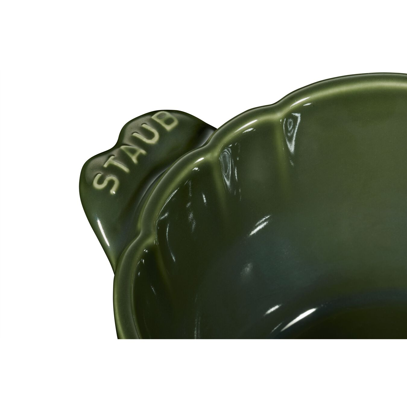 Ceramic Cocotte | Fesleğen | 13 cm | 450 ml | Enginar,,large 3