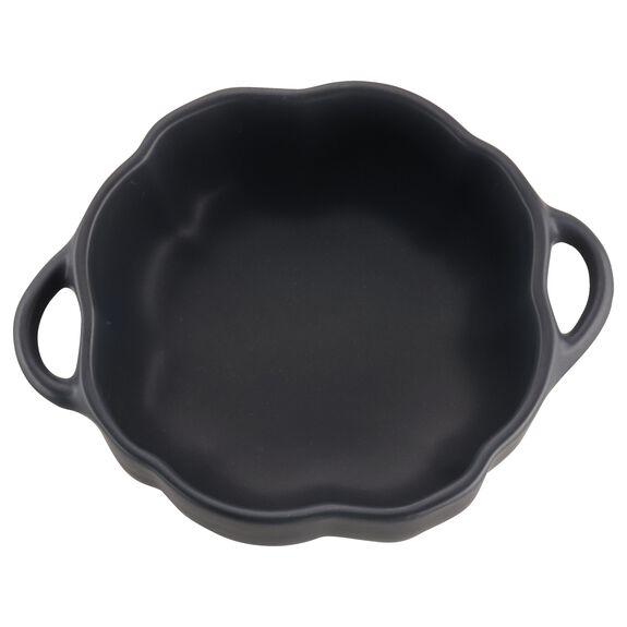 16-oz Petite Pumpkin Cocotte, Black Matte, , large 2