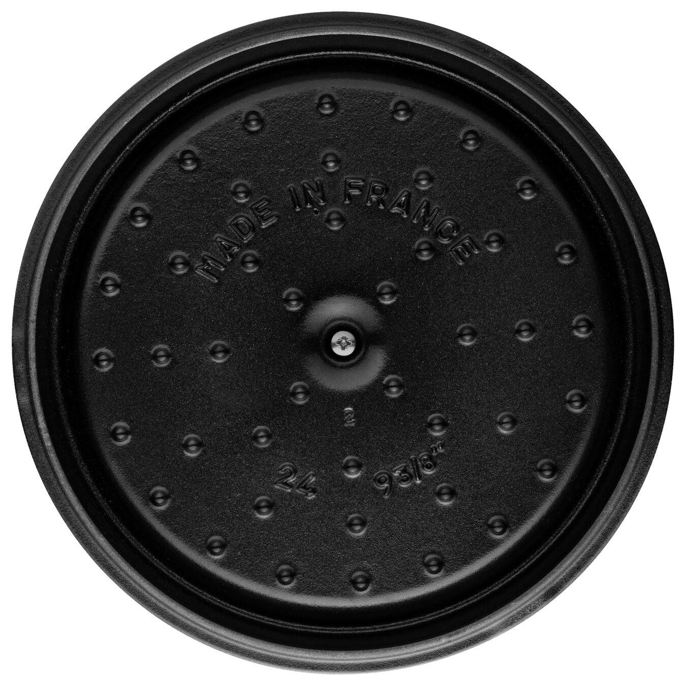 Cocotte en fonte 24 cm / 3,8 l, Rond, Blue La-Mer,,large 6
