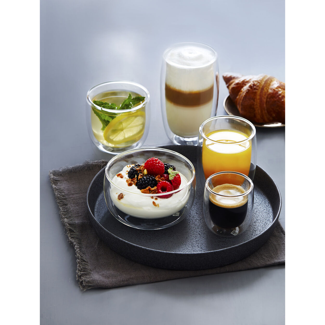 8 Piece Latte Glass Set - Value Pack,,large 5