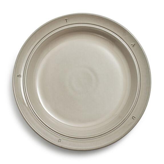 "9.5-inch Ceramic Soup Plate 24cm / 9.5"" - Graphite,,large"