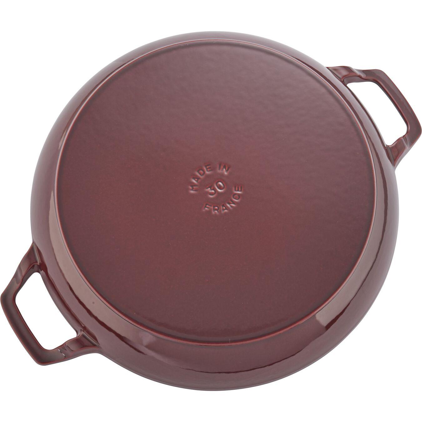 3,5 l Cast iron round Braisière, Grenadine-Red,,large 4