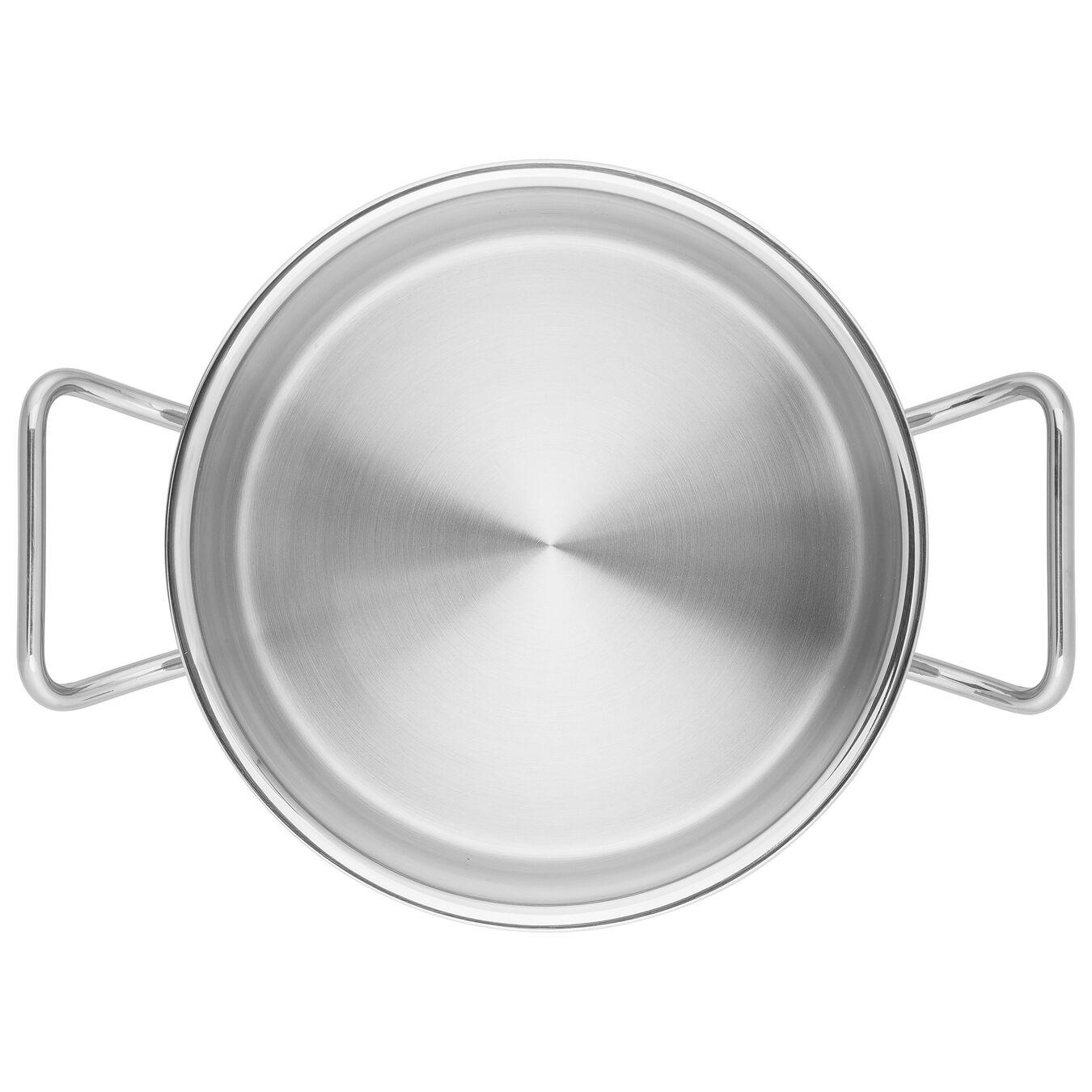 Sığ Tencere | 18/10 Paslanmaz Çelik | 24 cm | Metalik Gri,,large 6