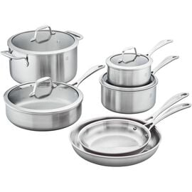 ZWILLING Spirit 3-Ply, Ceramic, 10-pc, stainless steel, Cookware Set