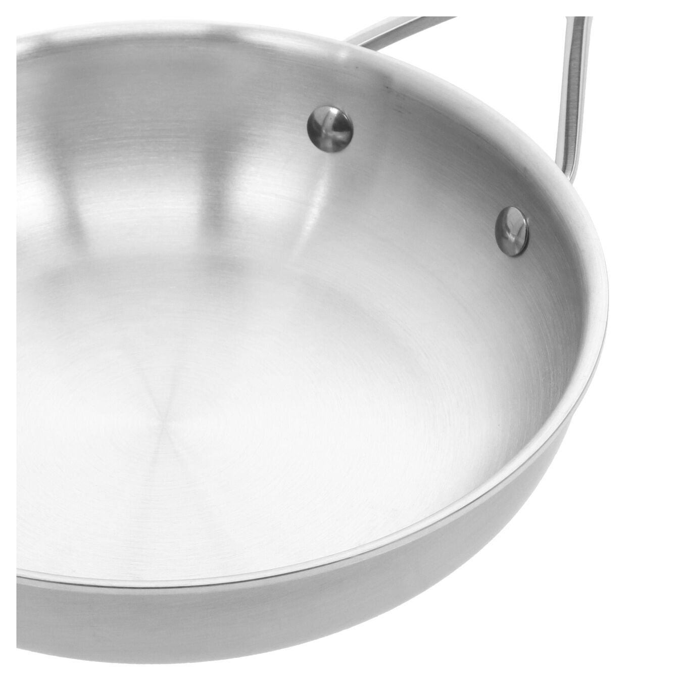 8-inch, 18/10 Stainless Steel, Non-stick, Frying pan,,large 6