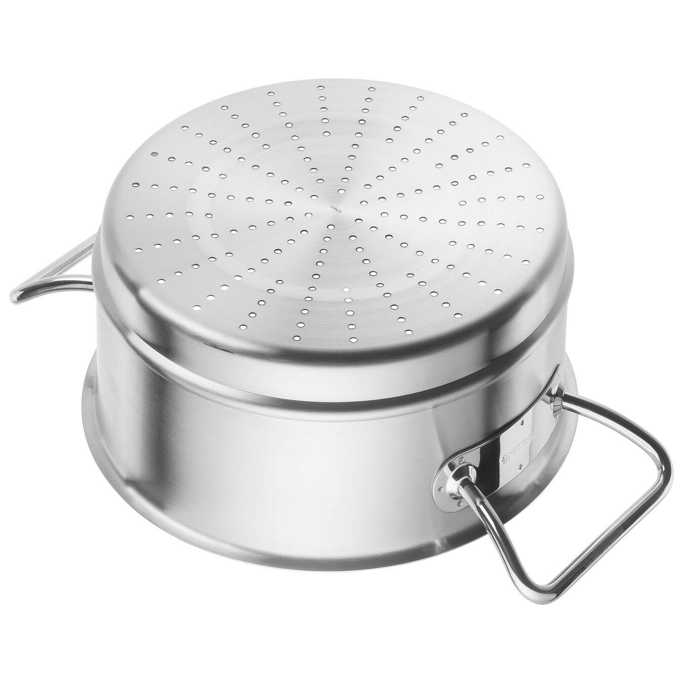 Passoire pour cuit vapeur 24 cm, Inox 18/10,,large 3