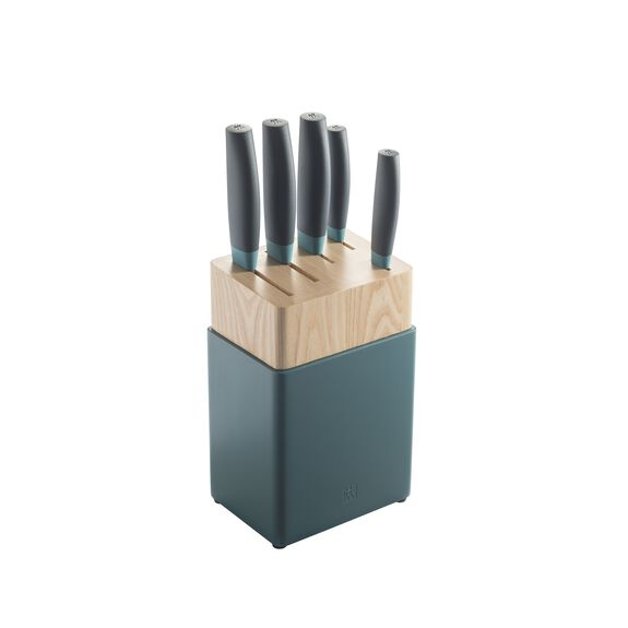 6-Piece Knife block set Wood,,large 2