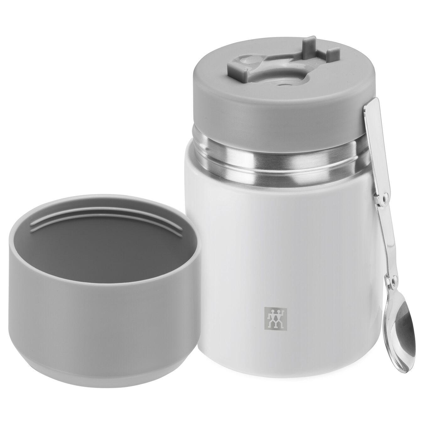 Speisegefäß, Weiß | Edelstahl | 700 ml,,large 2