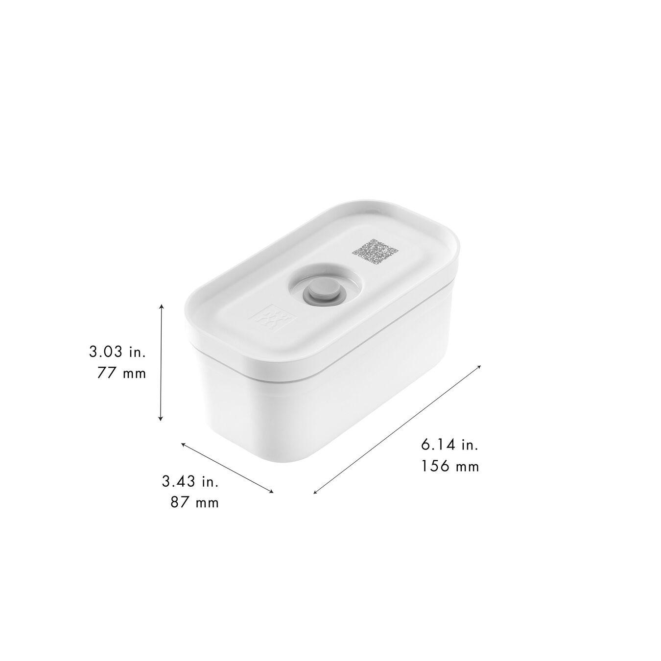 Vakuum madkasser, S - Plastik - Hvid-Grå,,large 11