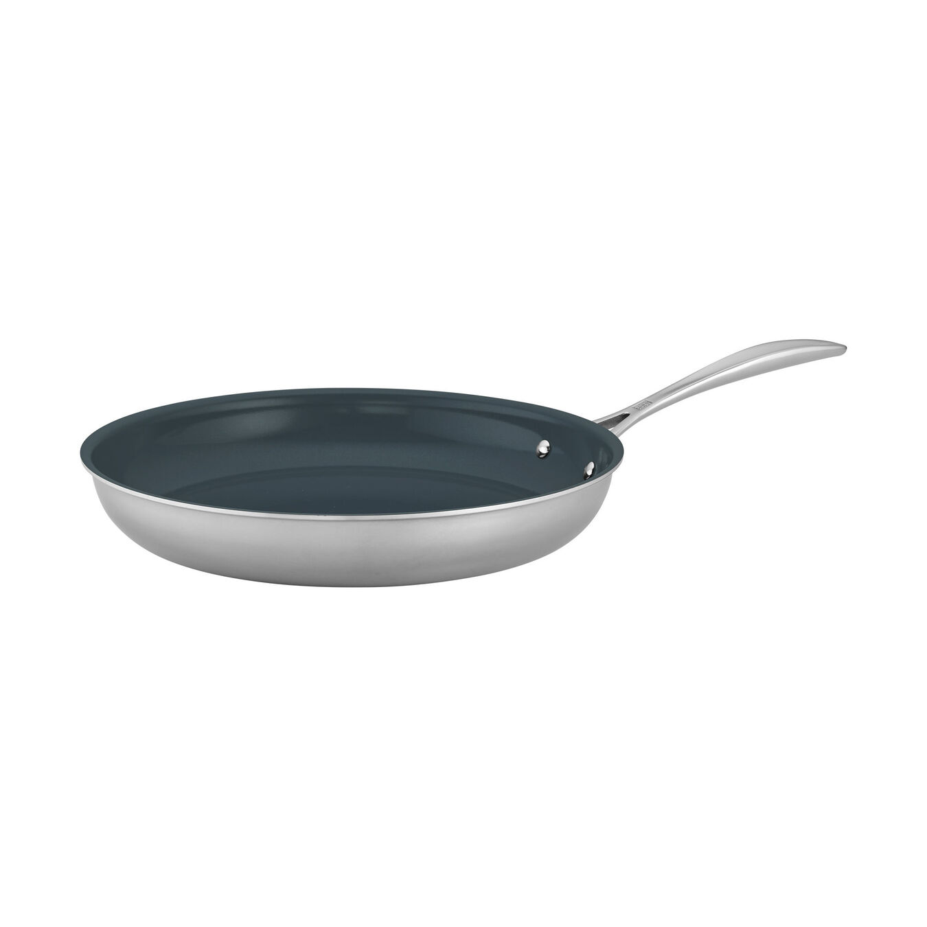 12-inch, 18/10 Stainless Steel, Ceramic, Non-stick, Frying pan,,large 1