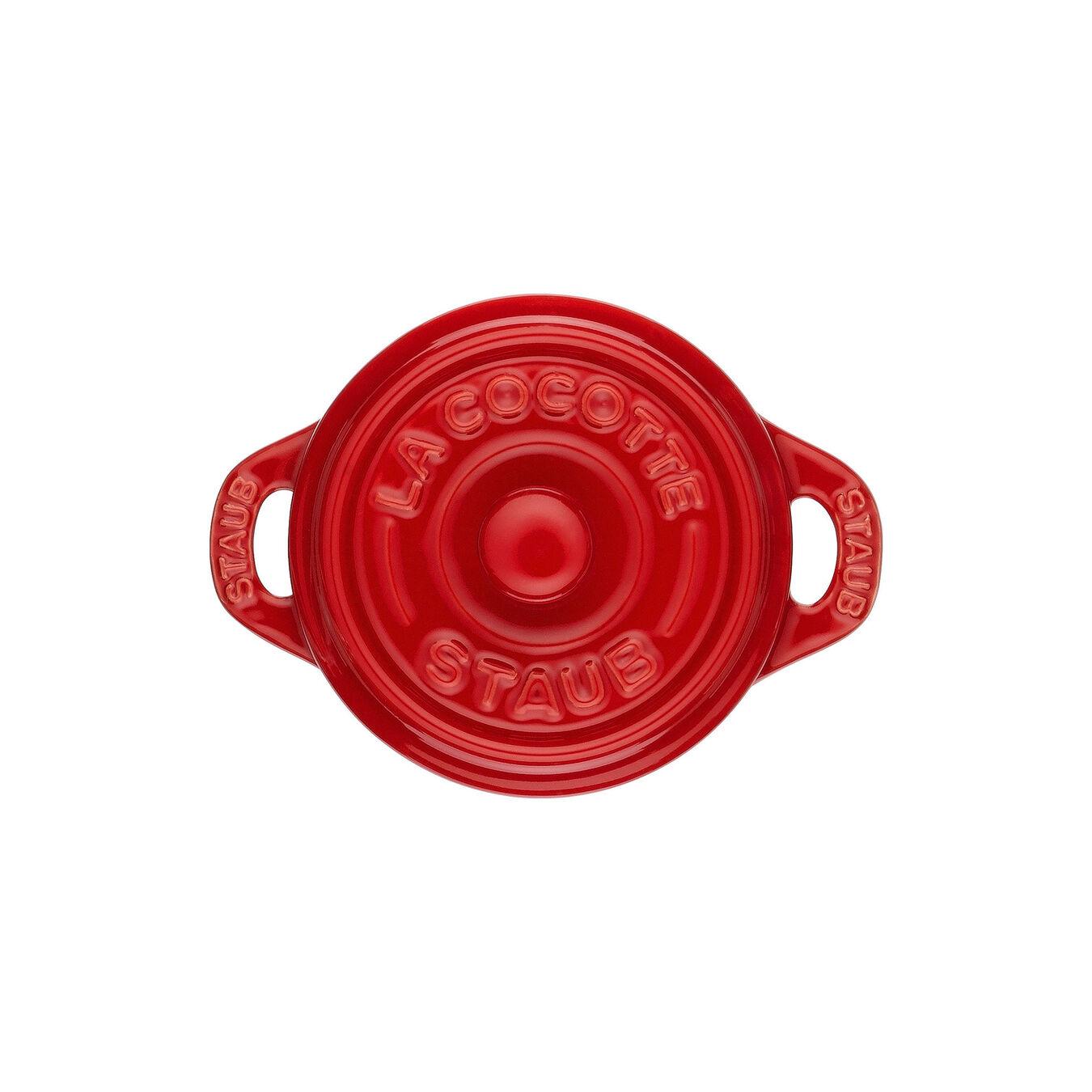 Mini seramik kap, 10 cm | Kiraz | Yuvarlak | Seramik,,large 3