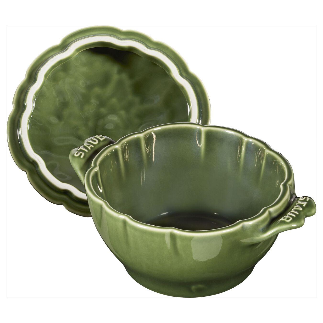 Ceramic Cocotte | Fesleğen | 13 cm | 450 ml | Enginar,,large 7