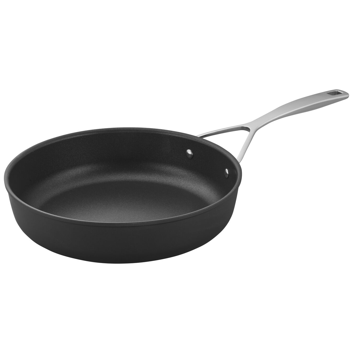 28 cm / 11 inch Aluminum Frying pan high-sided,,large 2