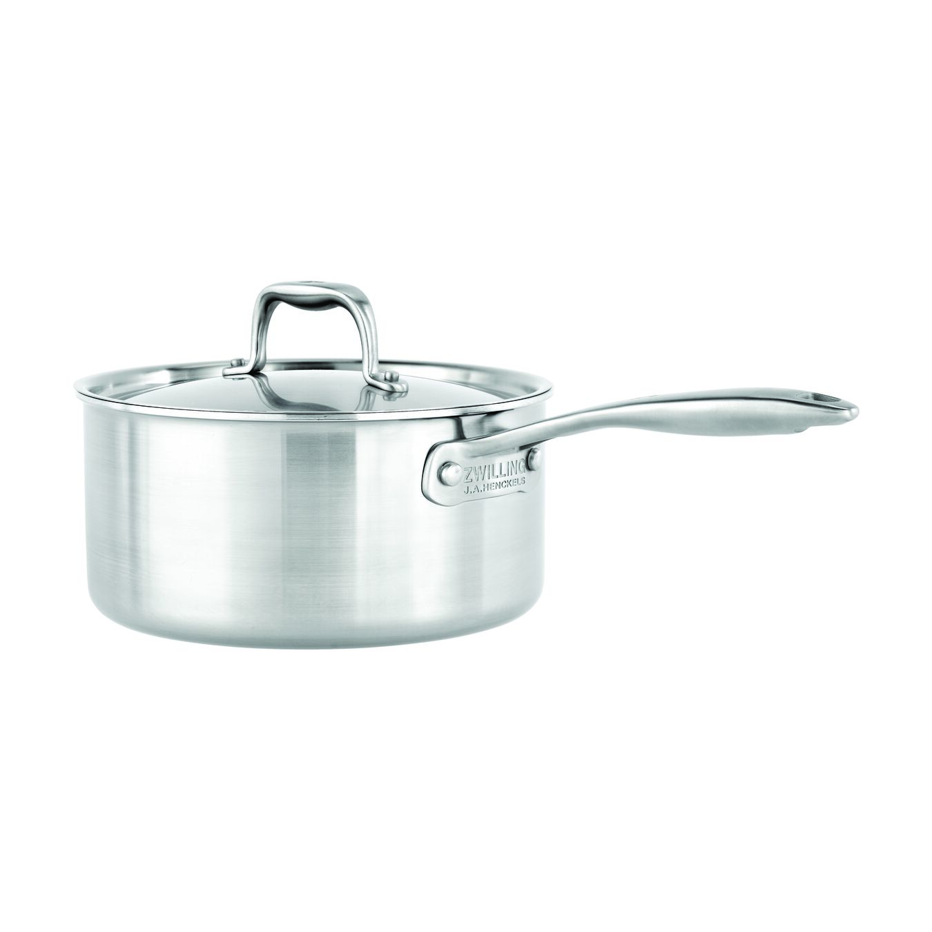 3.8L18/10 STAINLESS STEEL CERAMIC NON-STICK SAUCE PAN,,large 1