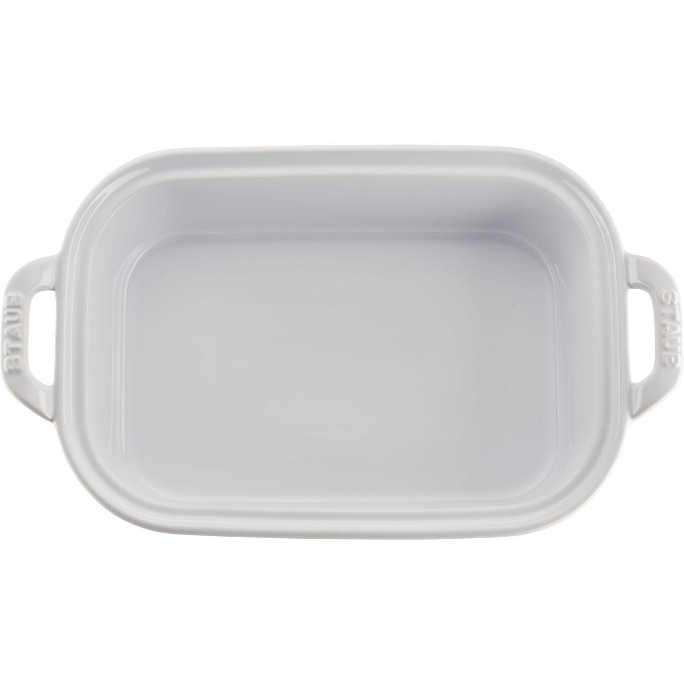 rectangular, Special shape bakeware, white,,large 3