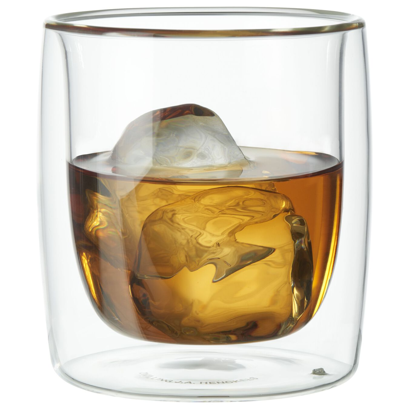 2-pc Whisky glass set, Double wall glas ,,large 1