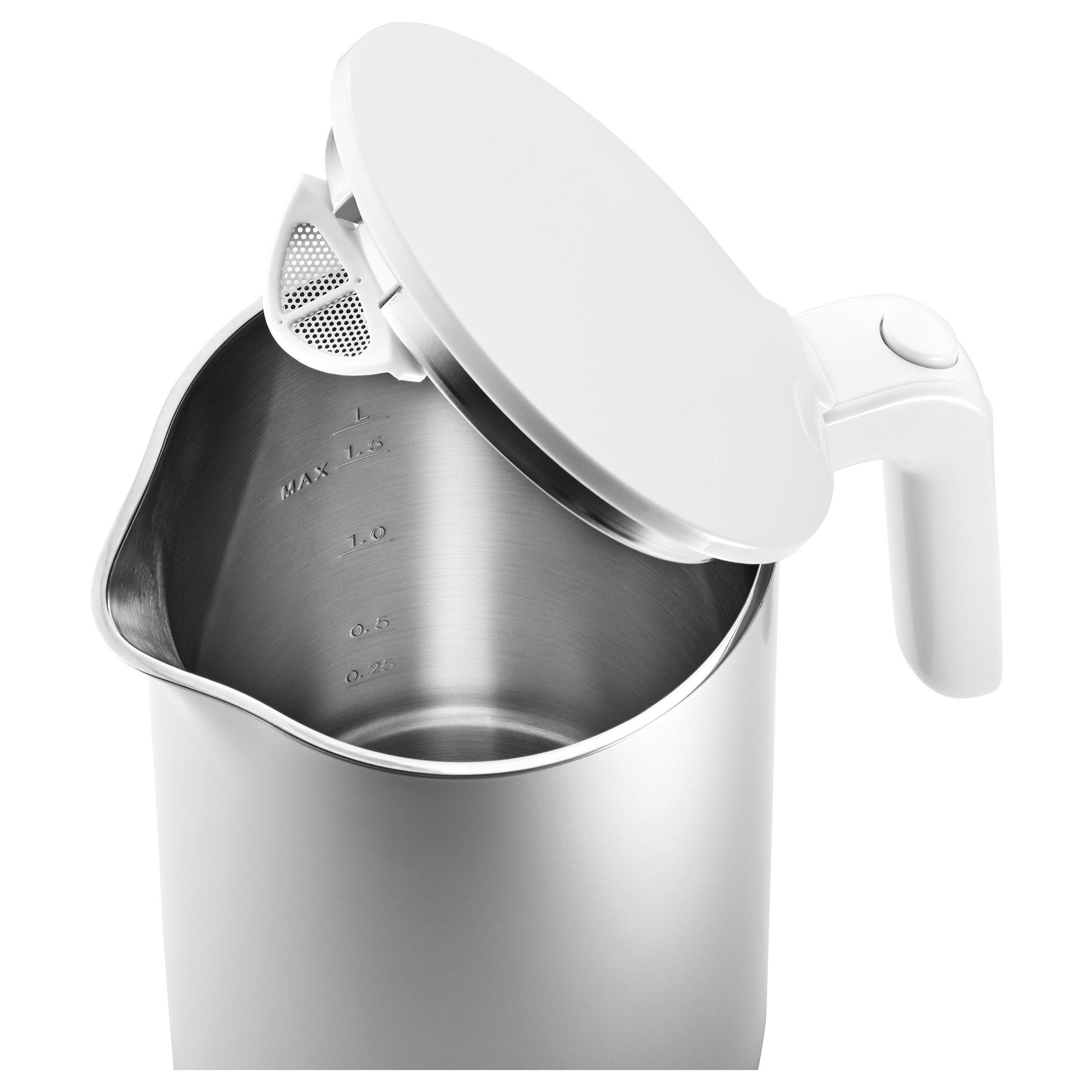 ZWILLING Enfinigy Wasserkocher, 1,5 l, Silber | Offizieller