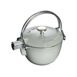 Staub Cast Iron, 1.25 qt, round, Tea pot, graphite grey