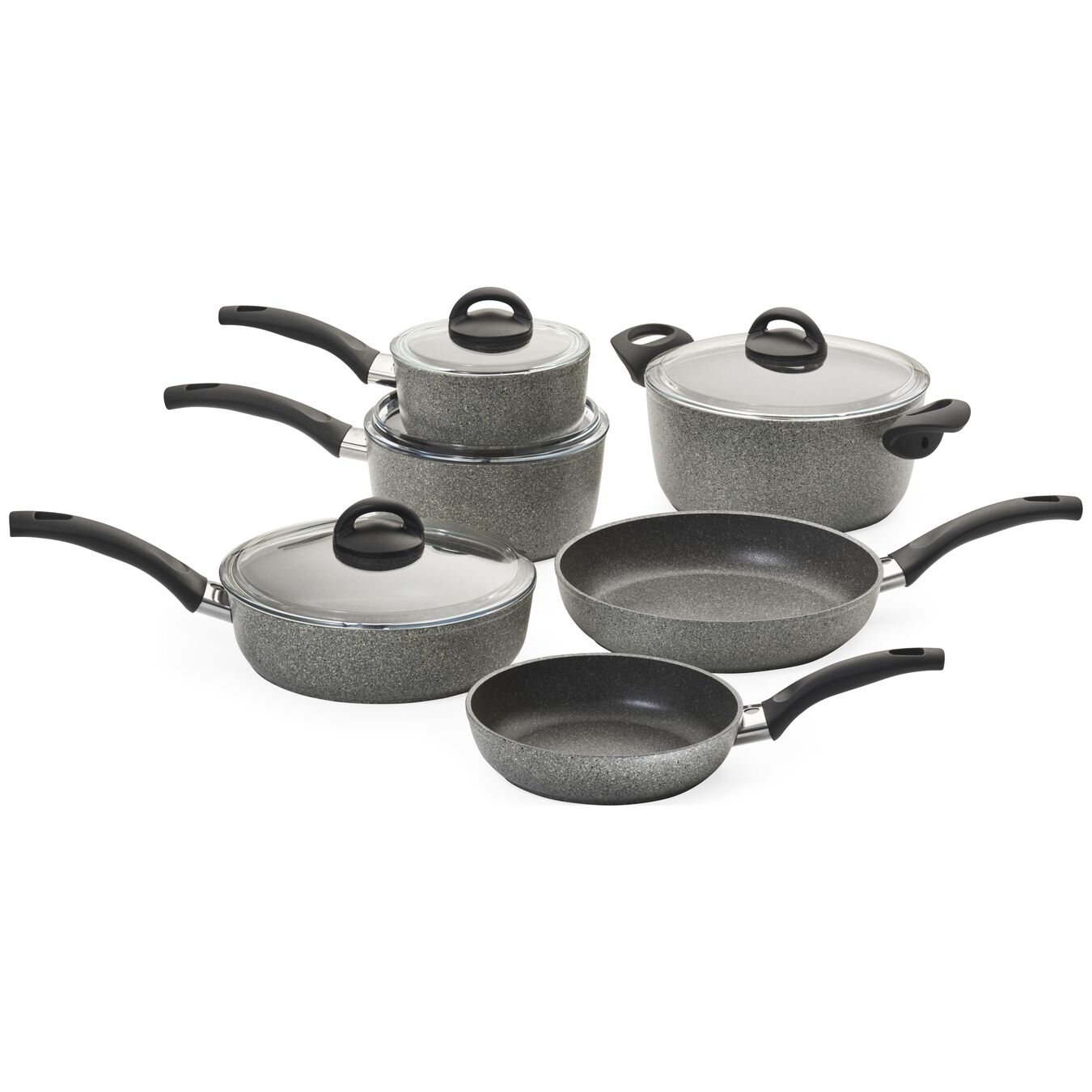 10-pc Nonstick Cookware Set,,large 1