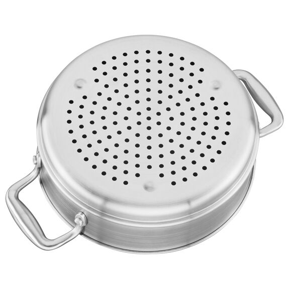 3-ply 6-qt Stainless Steel Steamer Insert,,large
