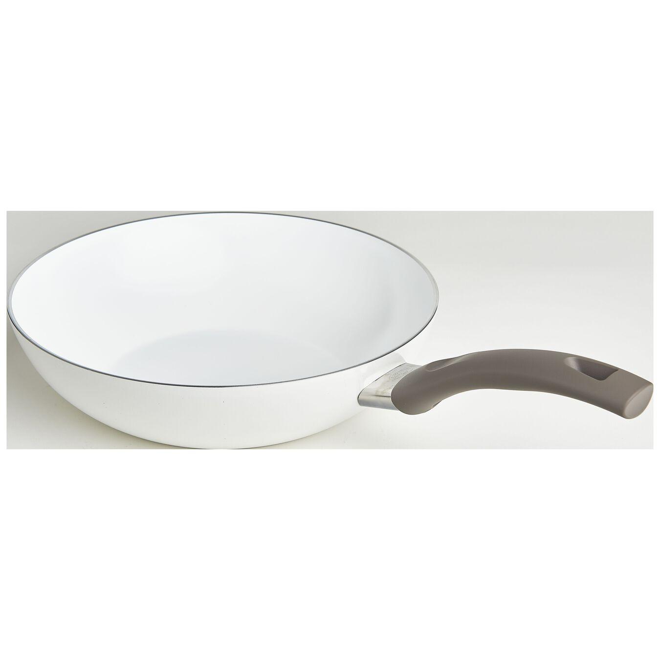 11-inch Aluminum Ceramic Nonstick Stir Fry Pan,,large 1