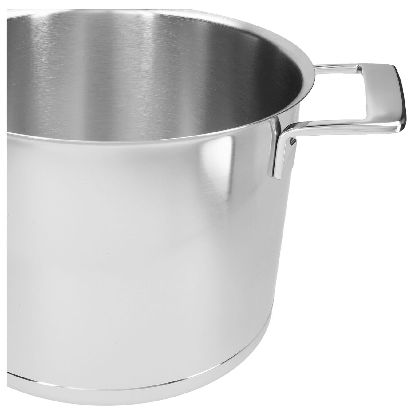 8 qt Stock pot with double walled lid, 18/10 Stainless Steel ,,large 4