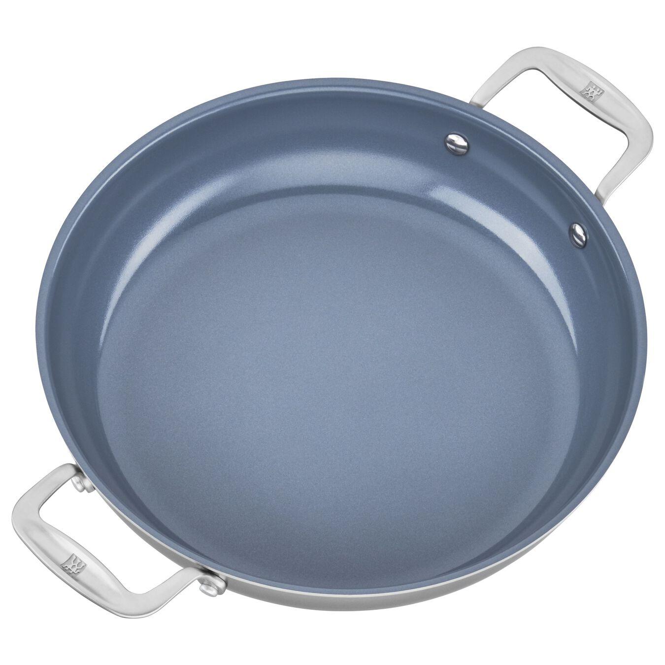 3-ply 4-qt Stainless Steel Ceramic Nonstick Braiser,,large 3
