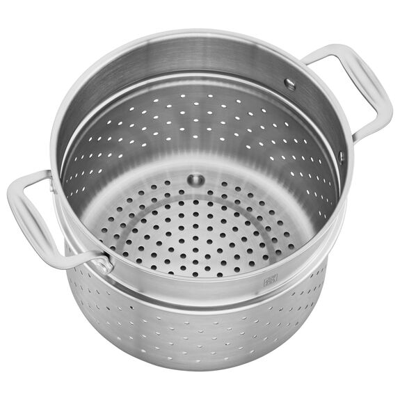 3-ply 6-qt Stainless Steel Pasta Insert (Fits 6-qt Dutch Oven),,large 3