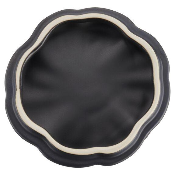 16-oz Petite Pumpkin Cocotte, Black Matte, , large 5