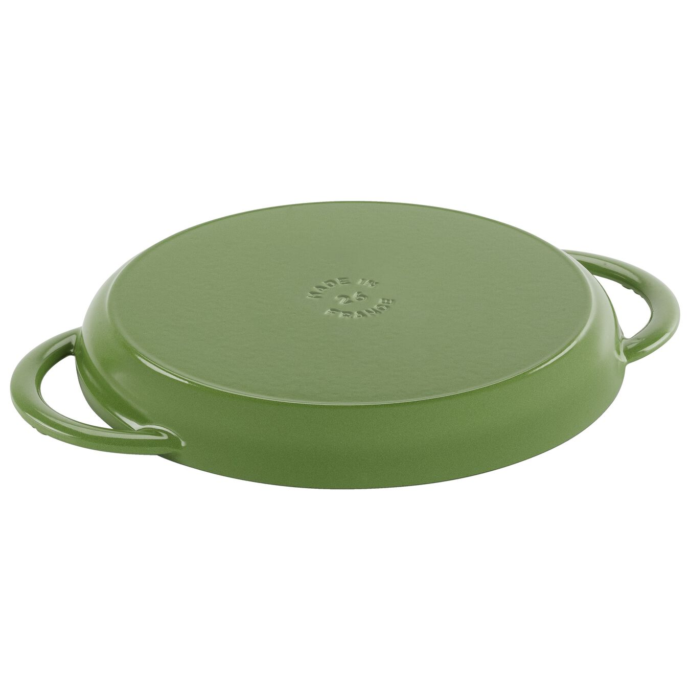 round, Grill pan, Lime Green,,large 2
