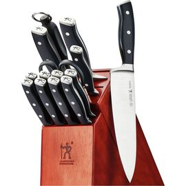 Henckels International Forged Accent, 15-pc Knife Block Set
