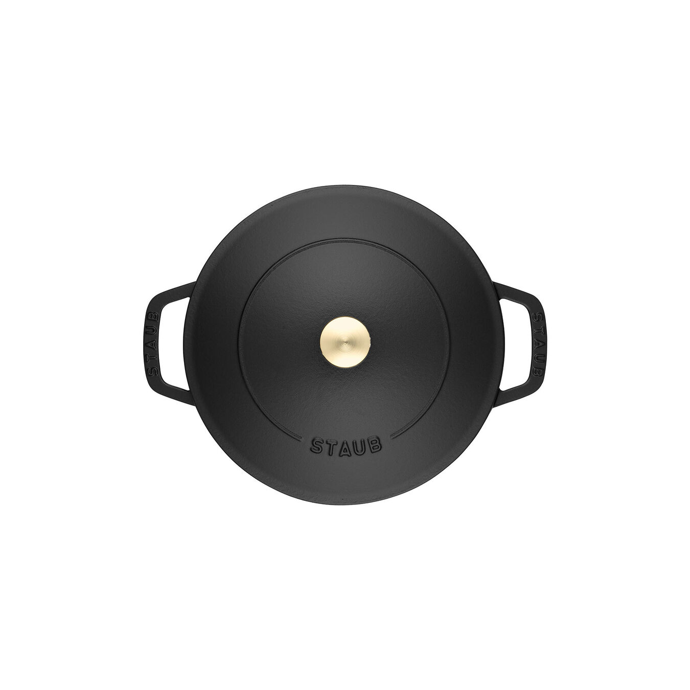 3.75 l Cast iron round Saute pan Chistera, Black,,large 5