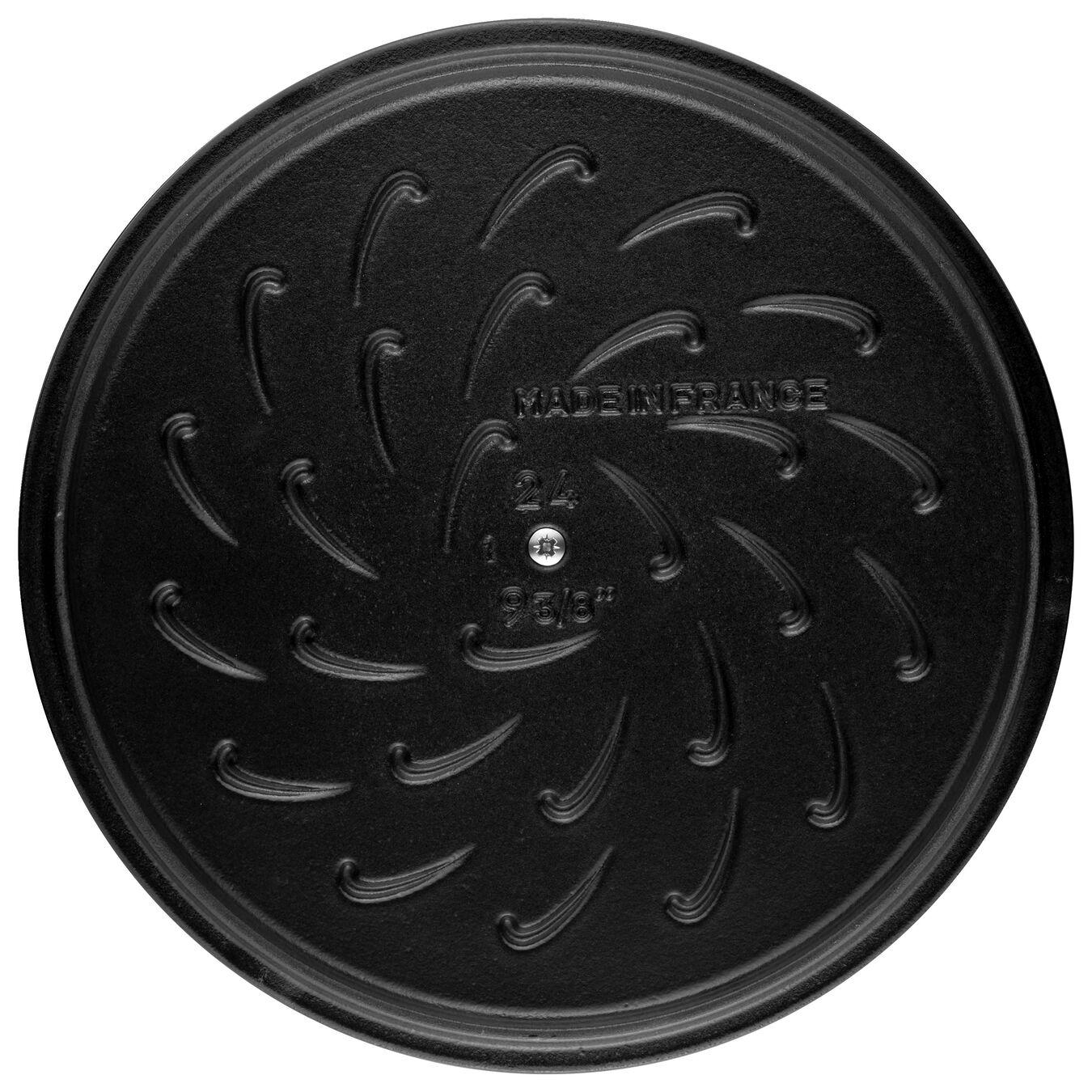 Caçarola redonda baixa chistera Chistera 28 cm, Ferro fundido,,large 6